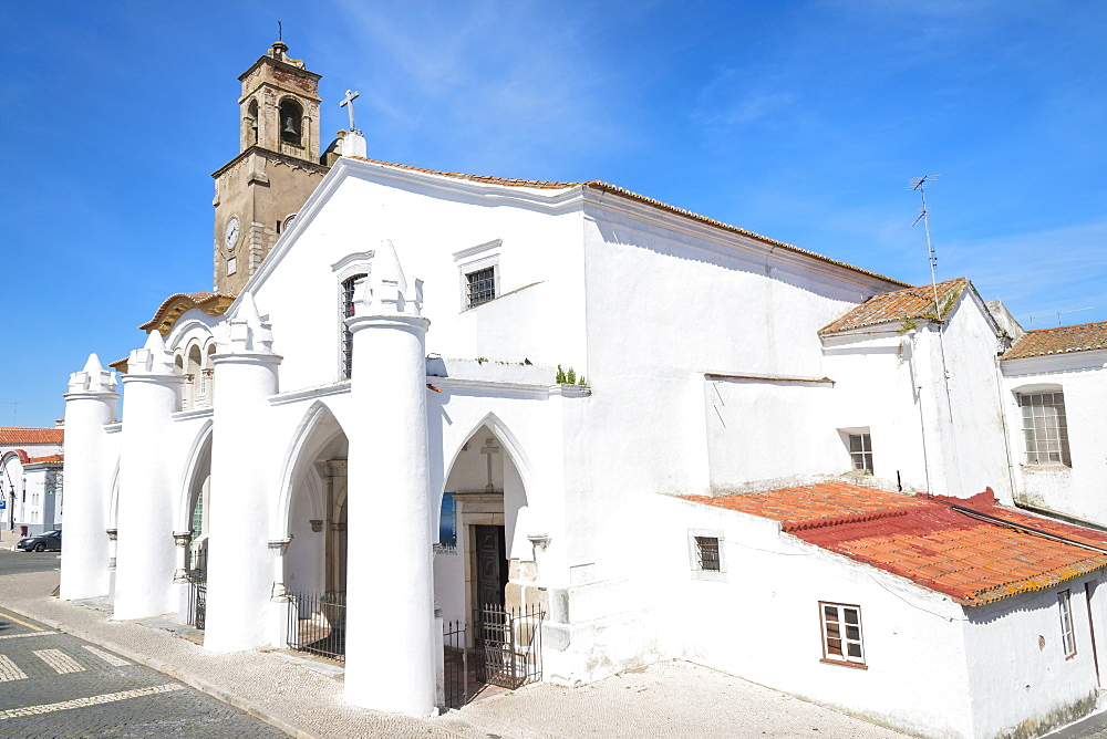 Santa Maria da Feira Church, Beja. Alentejo, Portugal, Europe