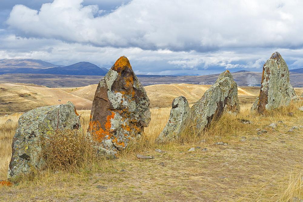 Prehistoric archaeological Karer site of Zorats, Sisian, Syunik Province, Armenia, Caucasus, Asia