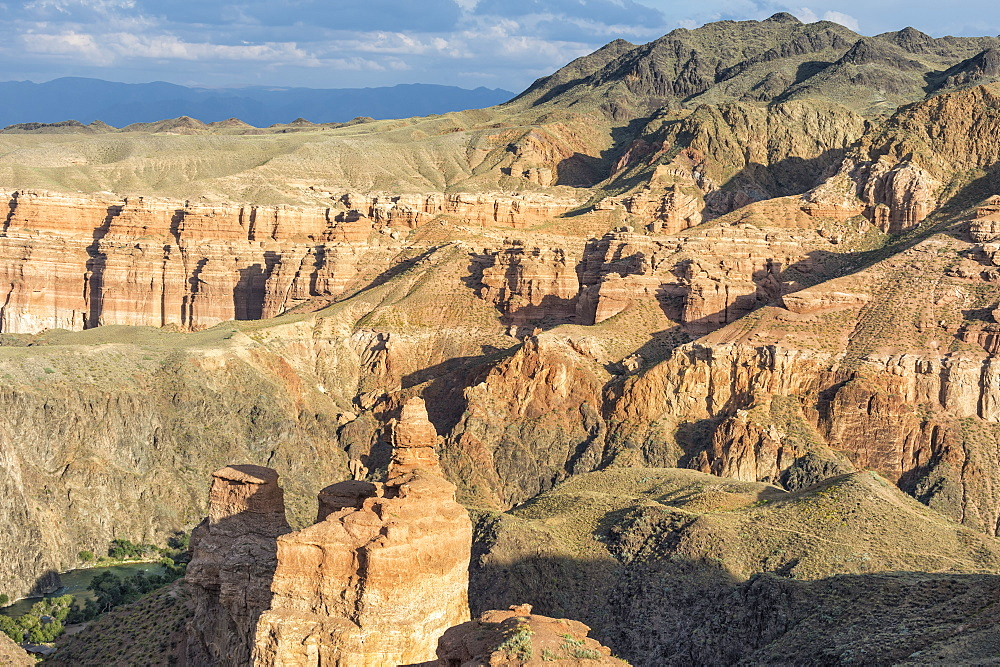 Sharyn Canyon National Park and the Valley of Castles, Tien Shan Mountains, Kazakhstan