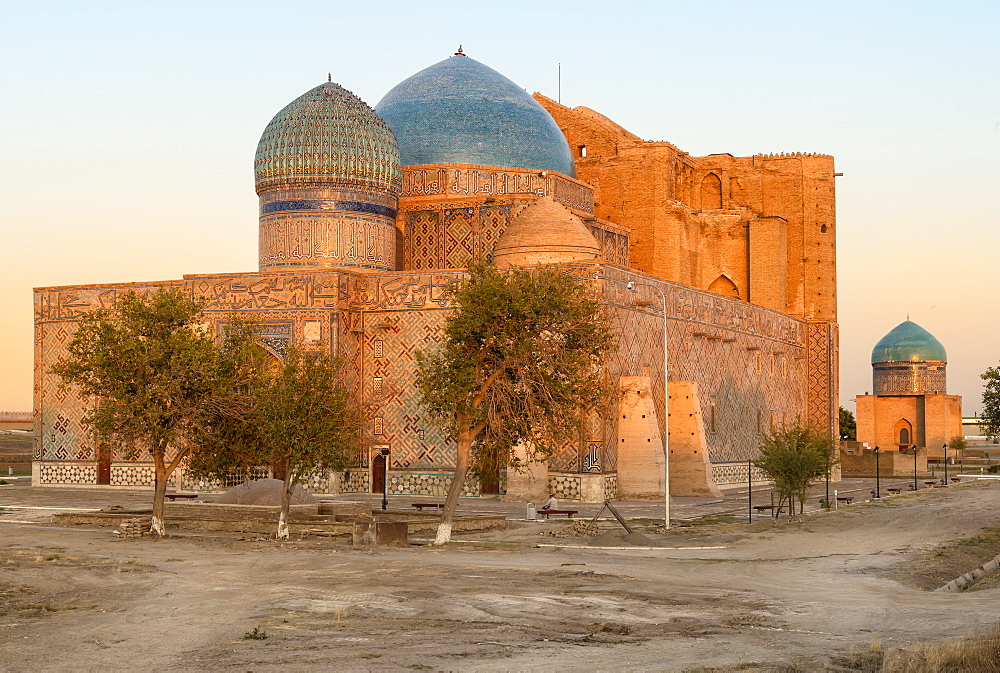 Khodja Ahmet Yasawi (Khoja Ahmed Yasawi) Mausoleum, UNESCO World Heritage Site, Turkistan, South region, Kazakhstan, Central Asia, Asia