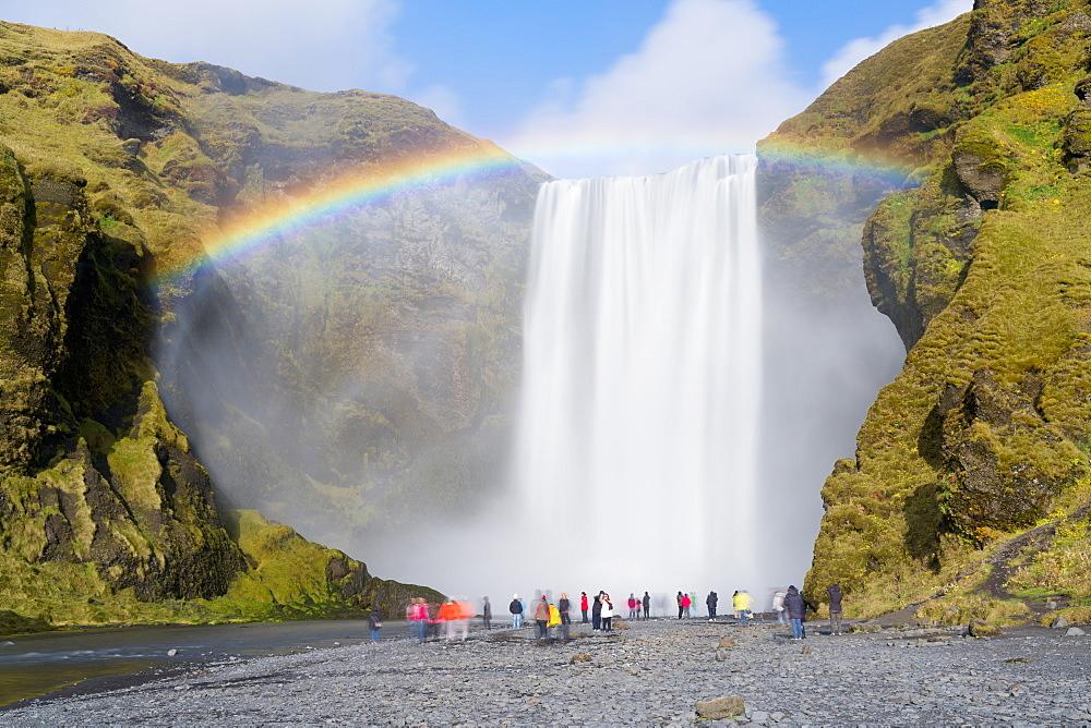 Skogar Waterfall, Skogar, Iceland, Polar Regions - 1132-304