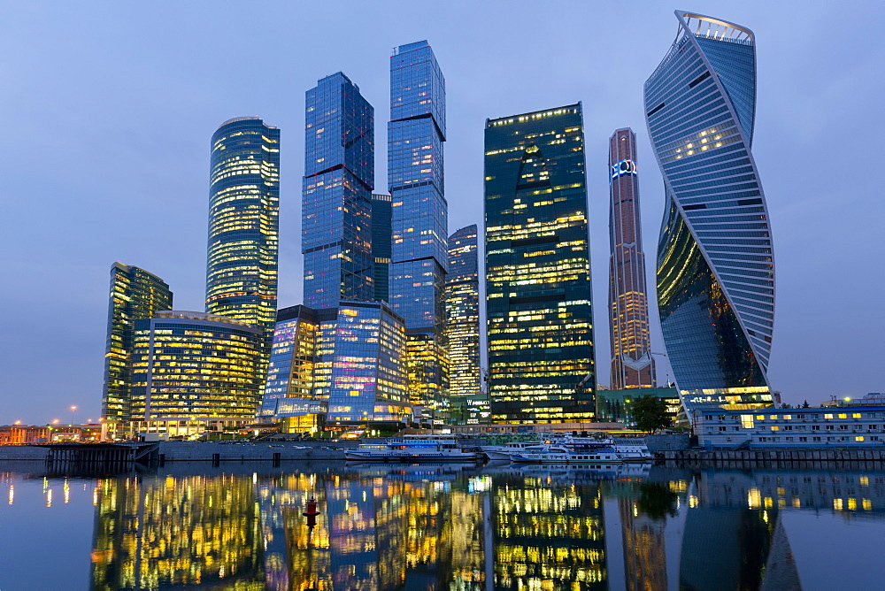 Moscow City Skyscrapers, Moscow, Russian Federation - 1132-339