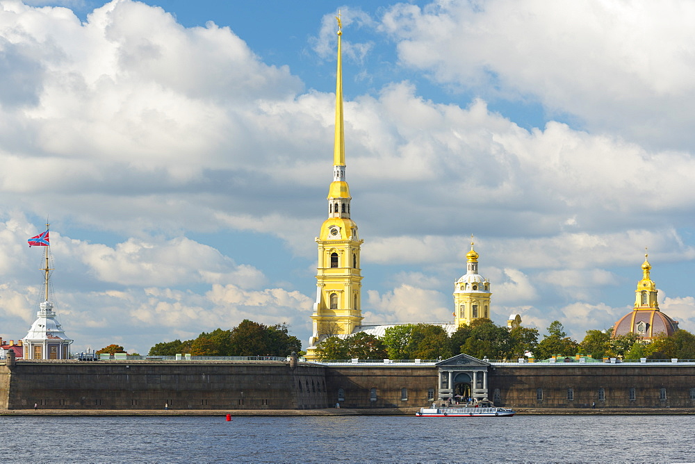 The Peter and Paul Fortress, UNESCO World Heritage Site, St. Petersburg, Russia, Europe
