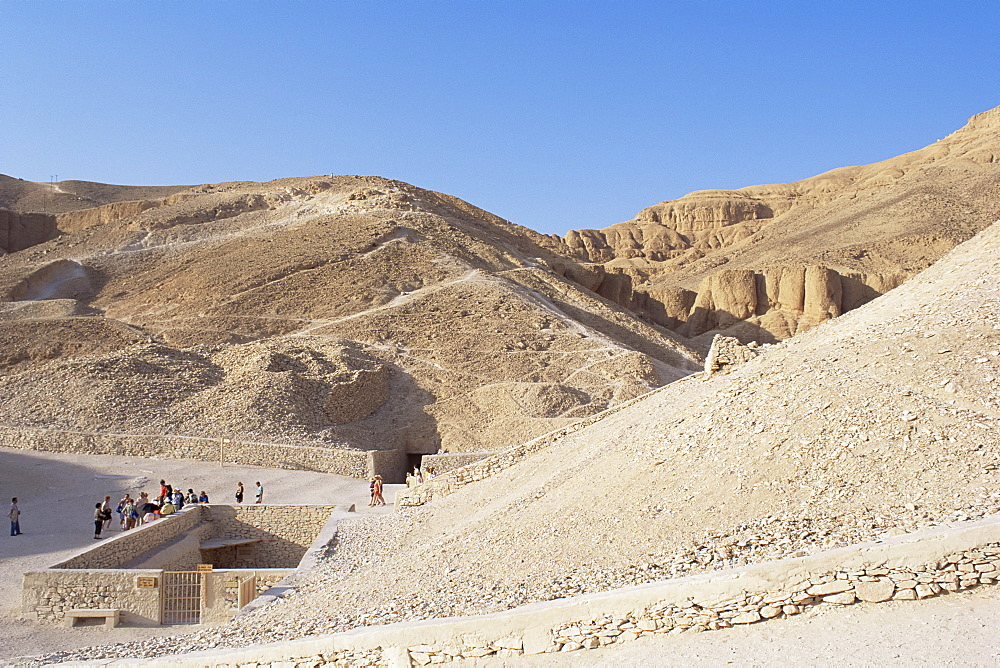 Tomb of Tutankhamen, Valley of the Kings, UNESCO World Heritage Site, Thebes, Egypt, North Africa, Africa