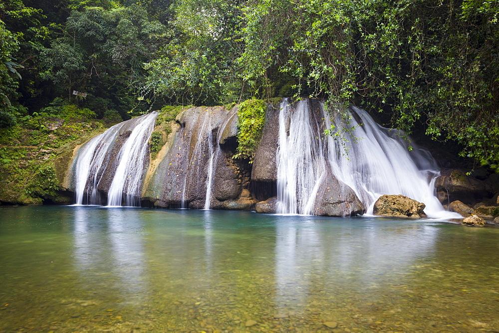 Reach Falls, Portland Parish, Jamaica, West Indies, Caribbean, Central America
