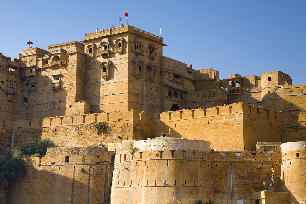 Rajmahal Palace, Jaisalmer, Western Rajasthan, India, Asia