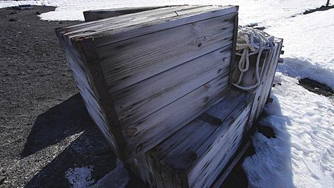 Exterior of Scott's hut, Ross Island, Antarctica