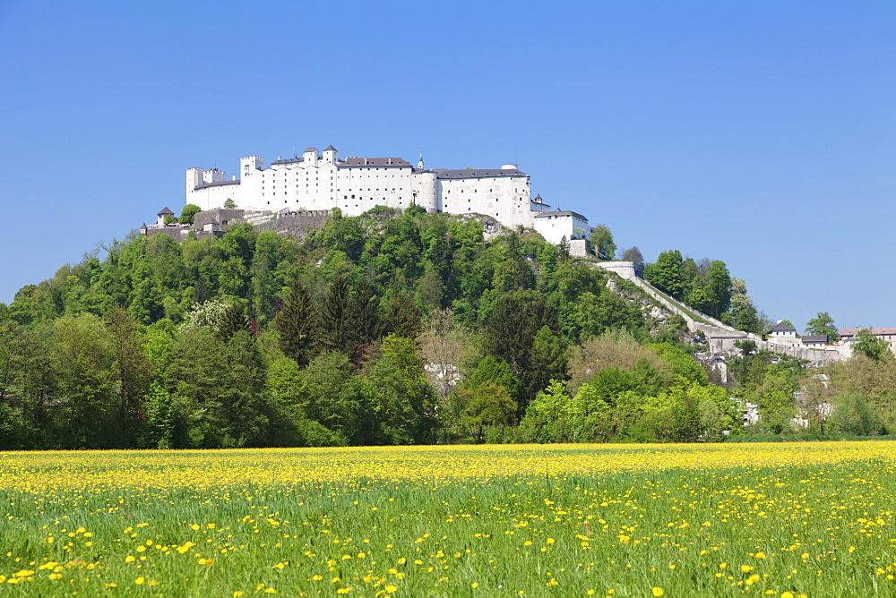 Fortress Hohensalzburg, Salzburg, Salzburger Land, Austria, Europe