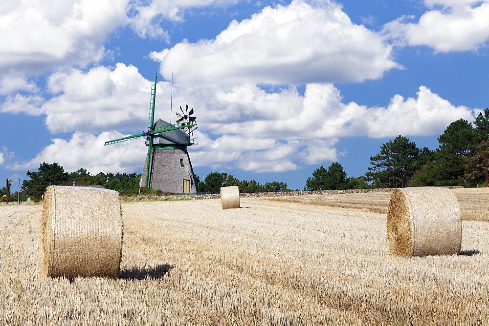 Old Dutch windmill, Nebel, Amrum, North Frisian Islands, Schleswig Holstein, Germany, Europe