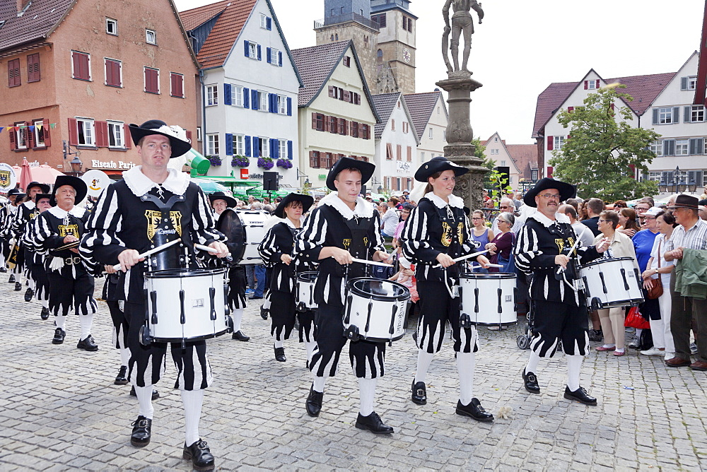 Historical parade, Schaferlauf, Markgroningen, Baden Wurttemberg, Germany, Europe