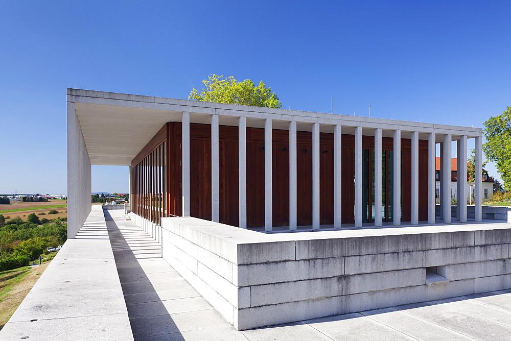 Museum of Modern Literature, Marbach am Neckar, Neckartal Valley, Ludwigsburg District, Baden Wurttemberg, Germany, Europe