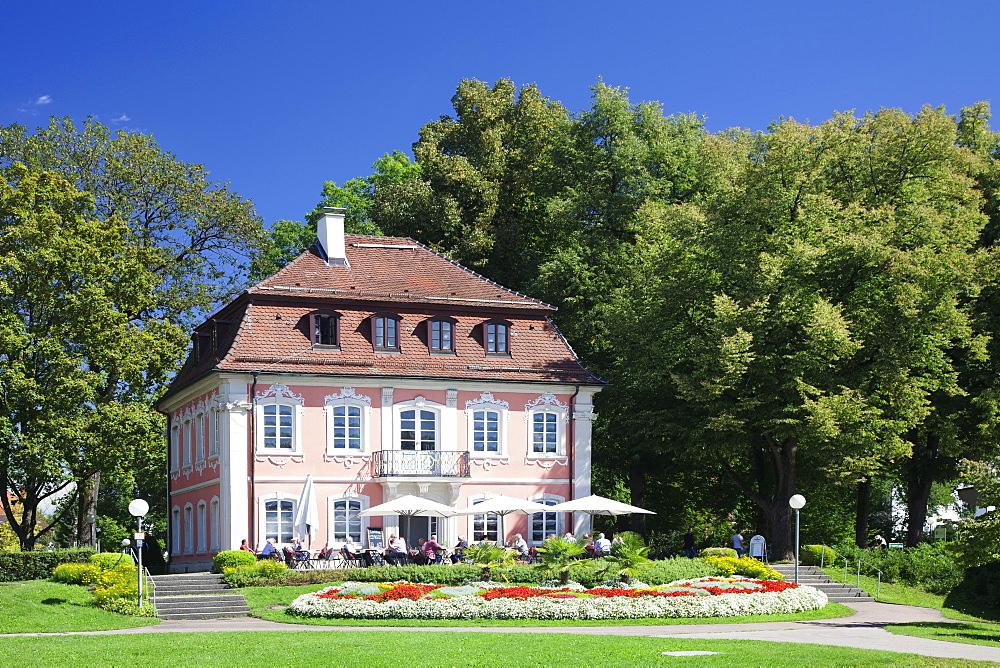 Rococo Palace, Municipal Park, Schwabisch Gmund, Baden Wurttemberg, Germany, Europe