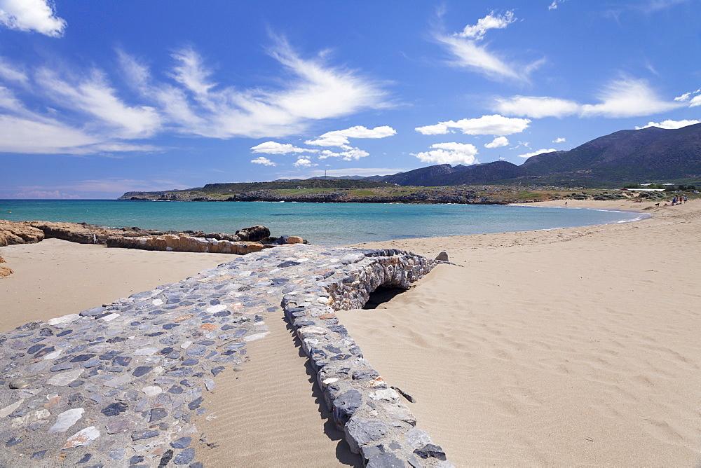 Potamos Beach, Malia, Iraklion, Crete, Greek Islands, Greece, Europe