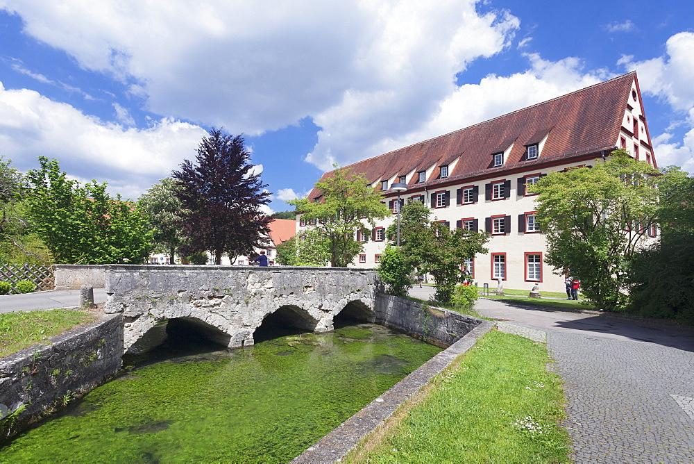 Zwiefalten Monastery, Swabian Alb, Baden Wurttemberg, Germany, Europe