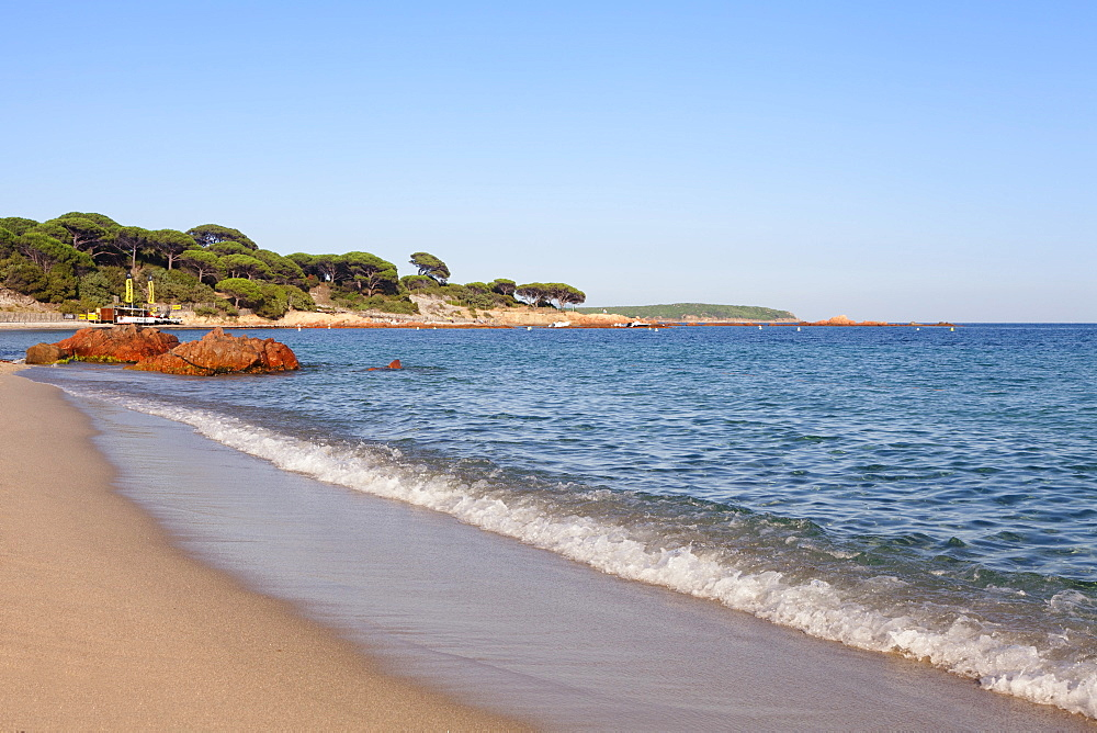 Beach of Palombaggia, Corsica, France, Mediterranean, Europe