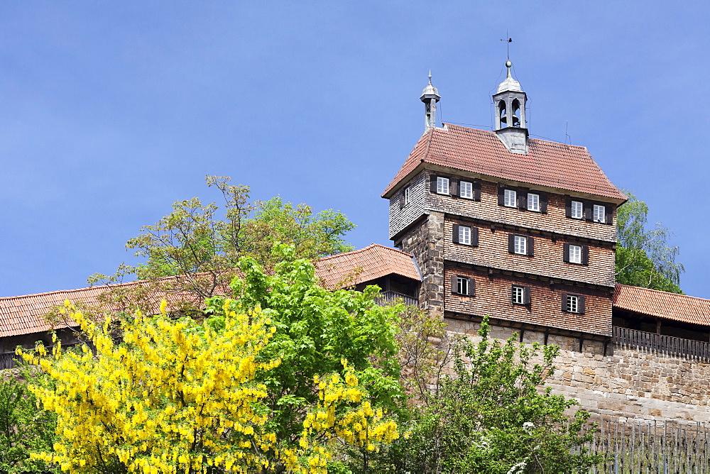 Esslingen Castle, Esslingen (Esslingen-am-Neckar), Baden-Wurttemberg, Germany, Europe