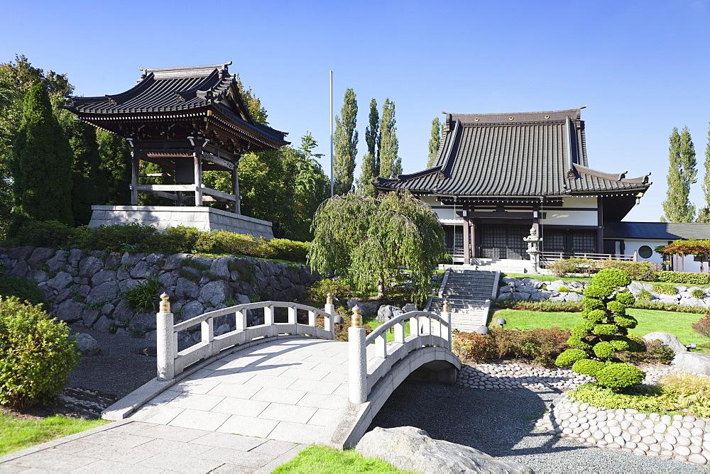 EKO House of Japanese culture, Dusseldorf, North Rhine-Westphalia, Germany, Europe