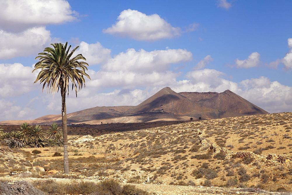 Volcano Caldera de Gairia, Tuineje, Fuerteventura, Canary Islands, Spain, Europe