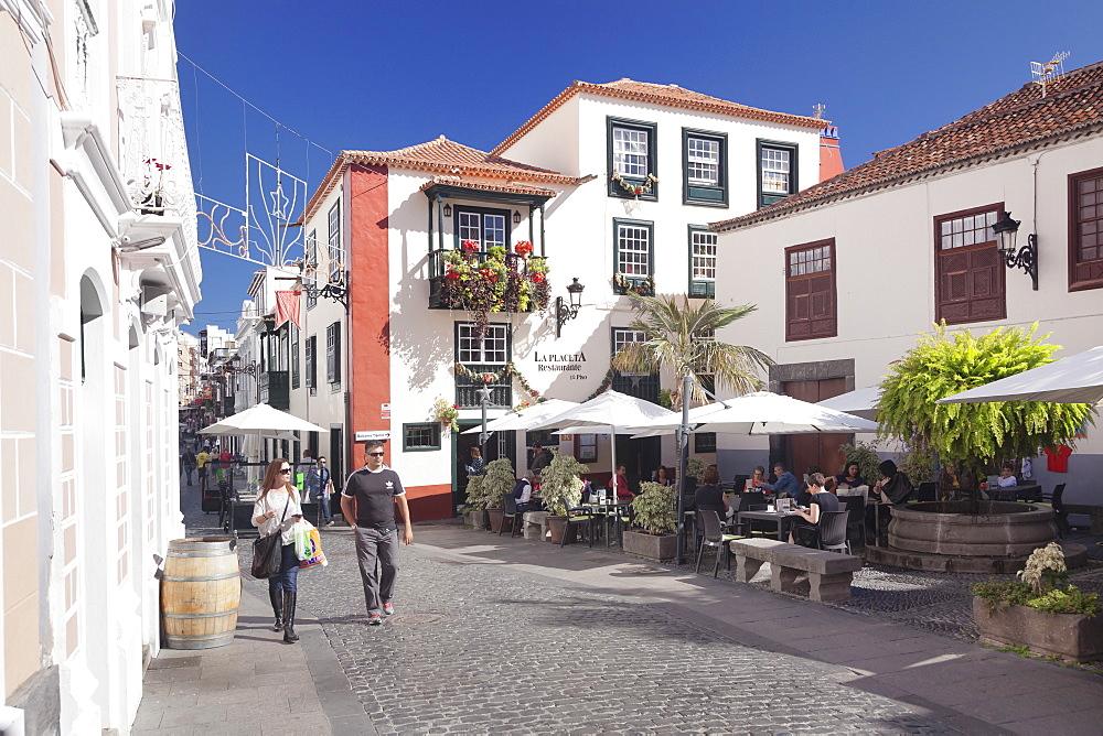 Placeta de Borrero, Santa Cruz de la Palma, La Palma, Canary Islands, Spain, Europe