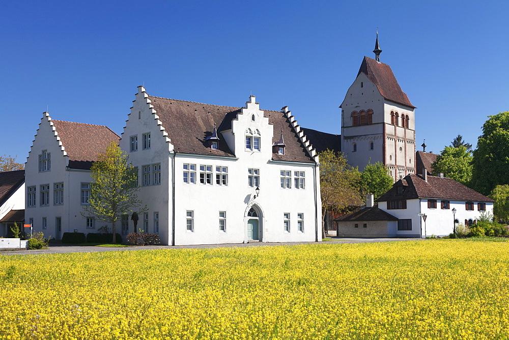 St. Maria und Markus Cathedral, Mittelzell, UNESCO World Heritage Site, Reichenau Island, Lake Constance, Baden-Wurttemberg, Germany, Europe