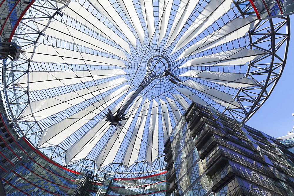 Sony Center, Potsdamer Platz Square, Berlin Mitte, Berlin, Germany, Europe - 1160-3065