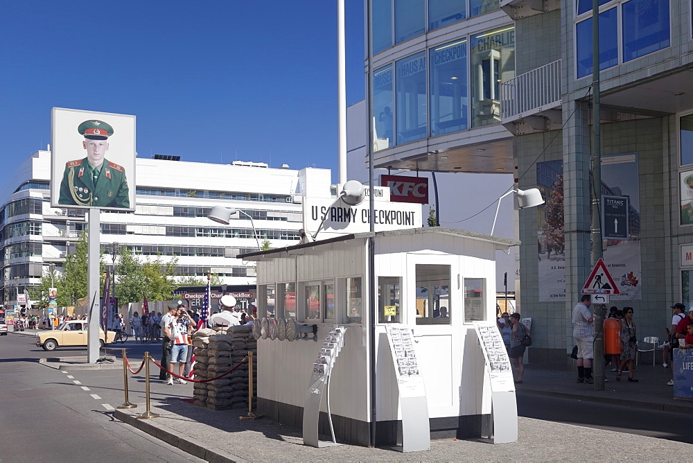 Checkpoint Charlie, Berlin Mitte, Berlin, Germany, Europe