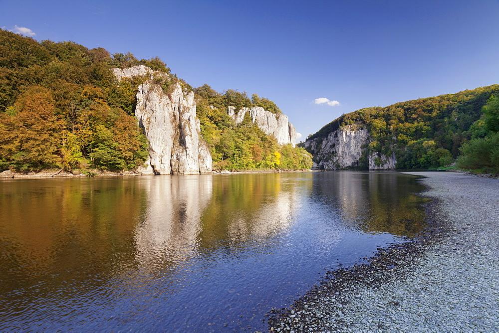 Donaudurchbruch, Danube River, near Kelheim, Bavaria, Germany
