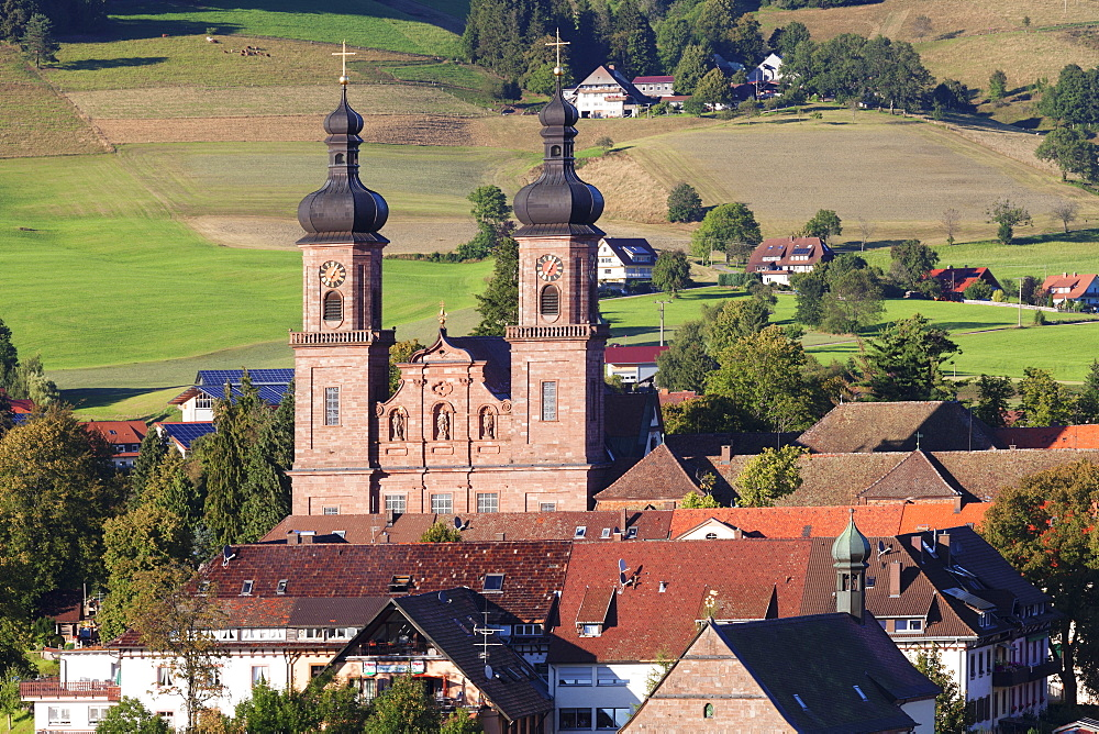 St. Peter Monastery, Glottertal Valley, Black Forest, Baden Wurttemberg, Germany, Europe