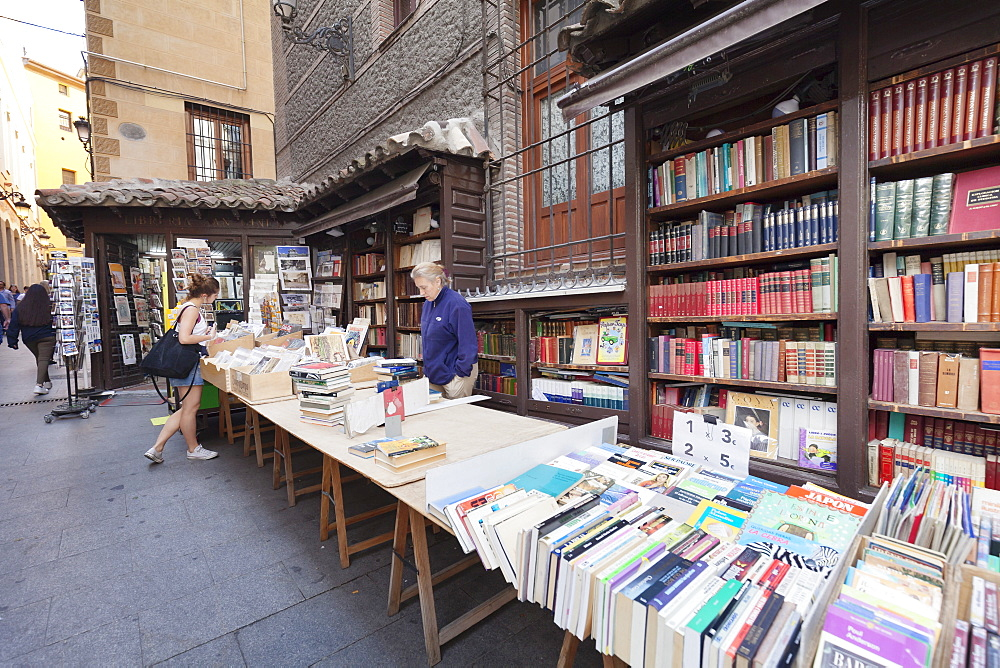 Bookstall Libreria San Gines, Madrid, Spain, Europe