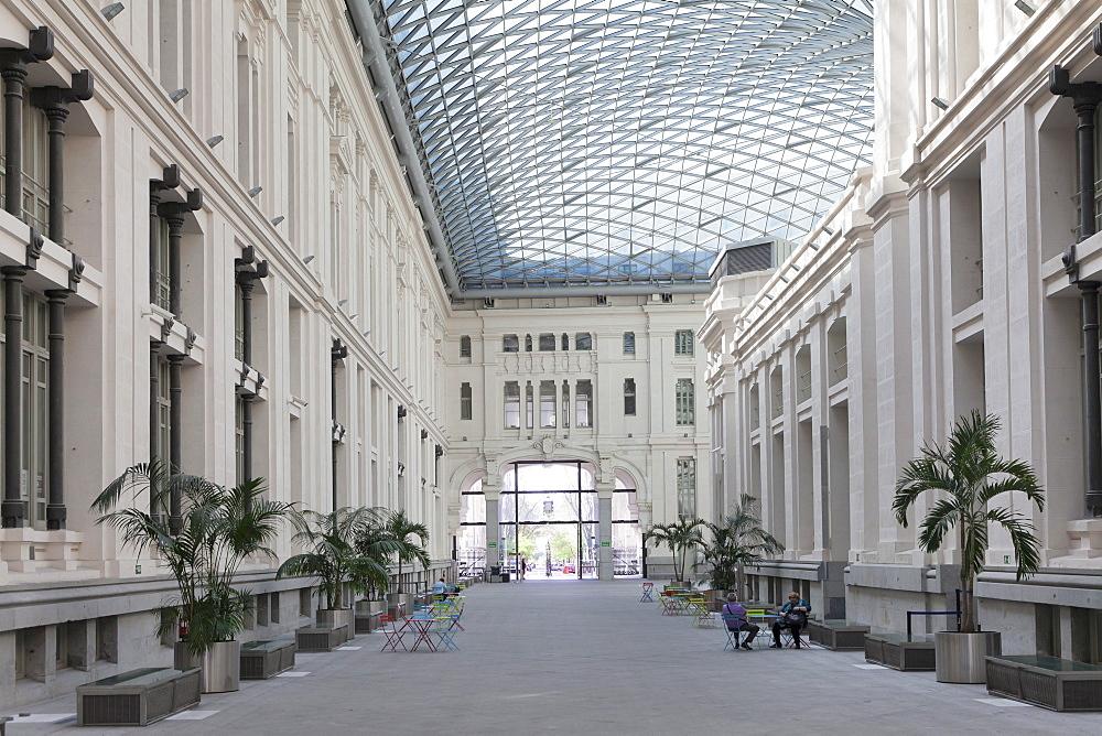Galeria de Cristal, Palacio de Comunicaciones, Plaza de la Cibeles, Madrid, Spain