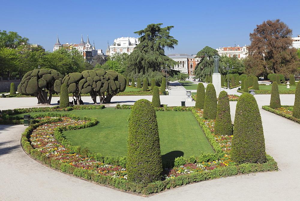 Retiro Park, Parque del Buen Retiro, Madrid, Spain