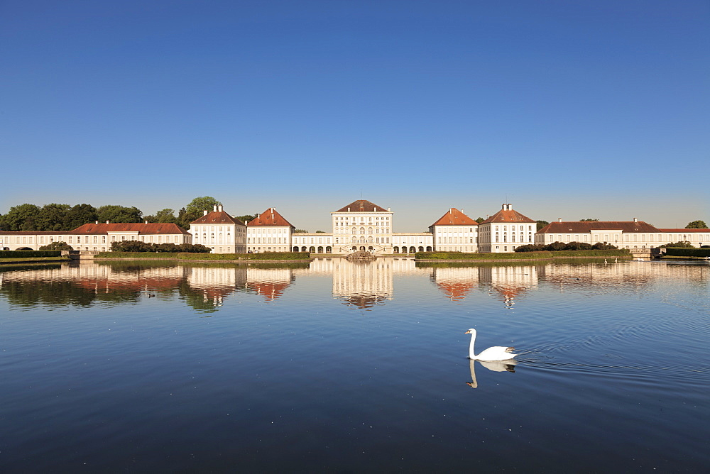 Schloss Nymphenburg Palace, Munich, Bavaria, Germany, Europe