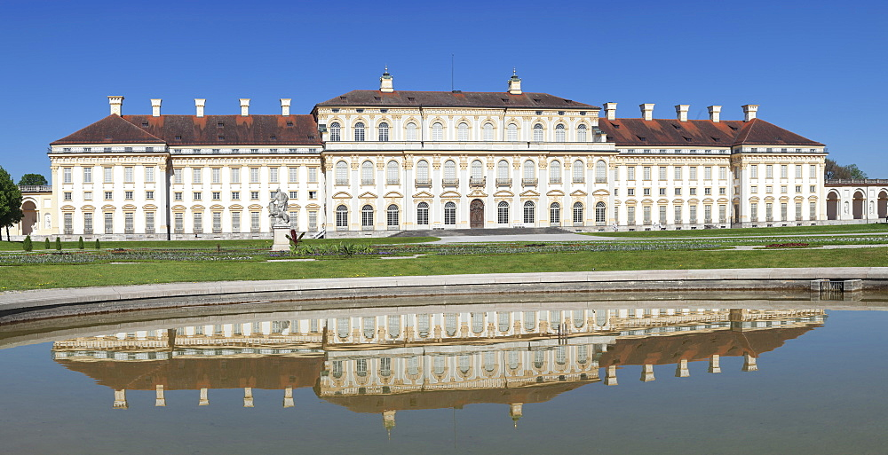 New Schleissheim Palace, Oberschleissheim, Munich, Bavaria, Germany, Europe