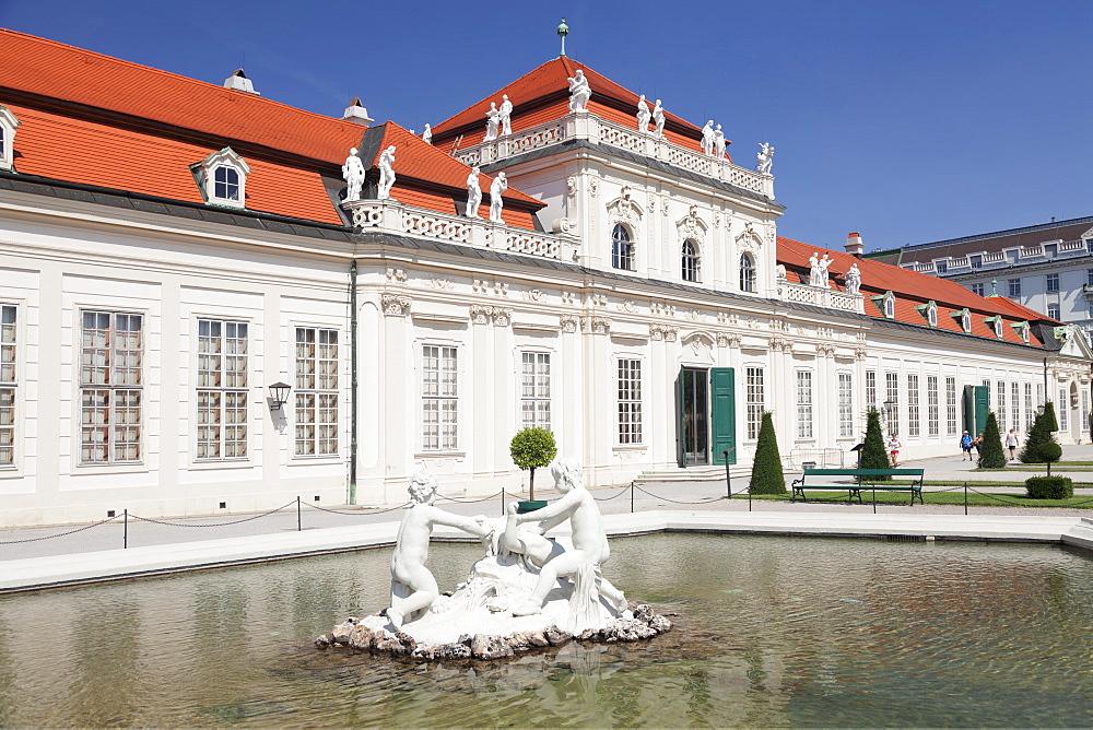 Lower Belvedere Palace, UNESCO World Heritage Site, Vienna, Austria, Europe