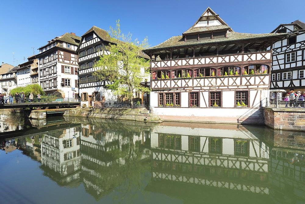 Maison des Tanneurs, La Petite France, UNESCO World Heritage Site, Strasbourg, Alsace, France, Europe - 1160-3897