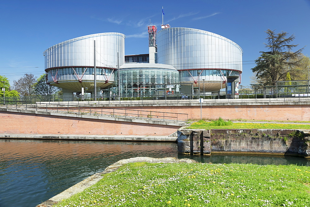 European Court of Human Rights, Strasbourg, Alsace, France, Europe