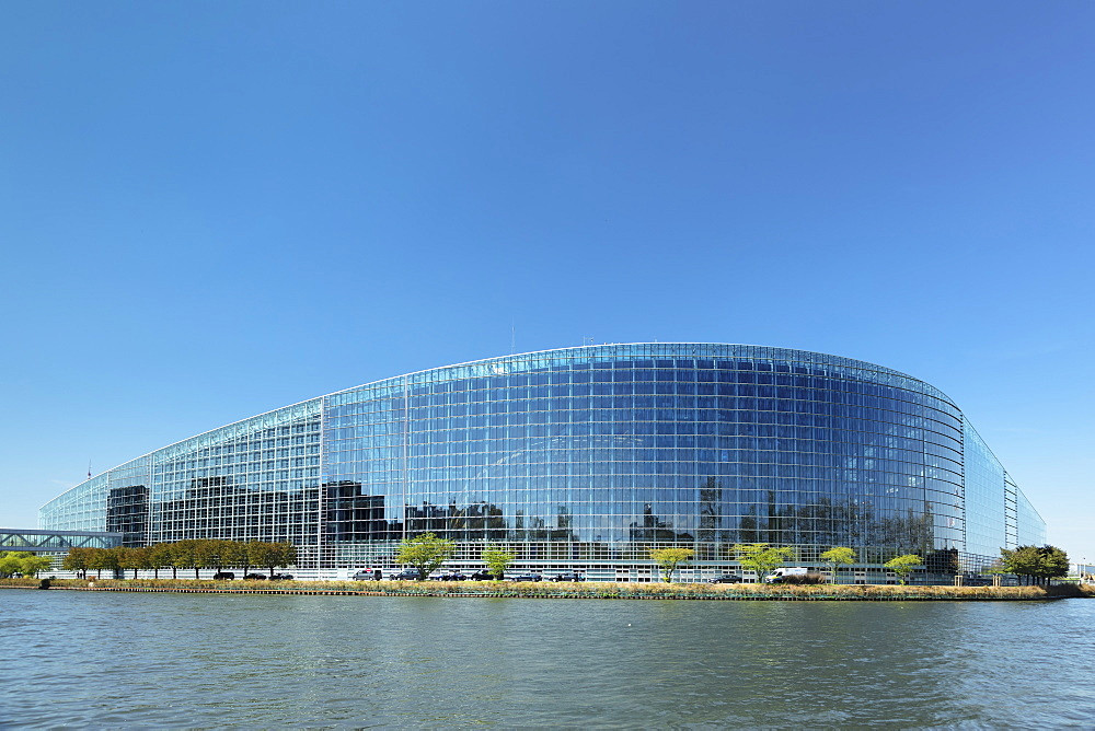 European Parliament, Strasbourg, Alsace, France, Europe - 1160-3914