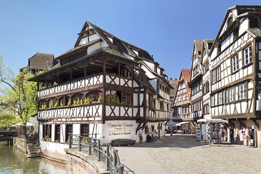 Maison des Tanneurs, La Petite France, UNESCO World Heritage Site, Strasbourg, Alsace, France - 1160-3916