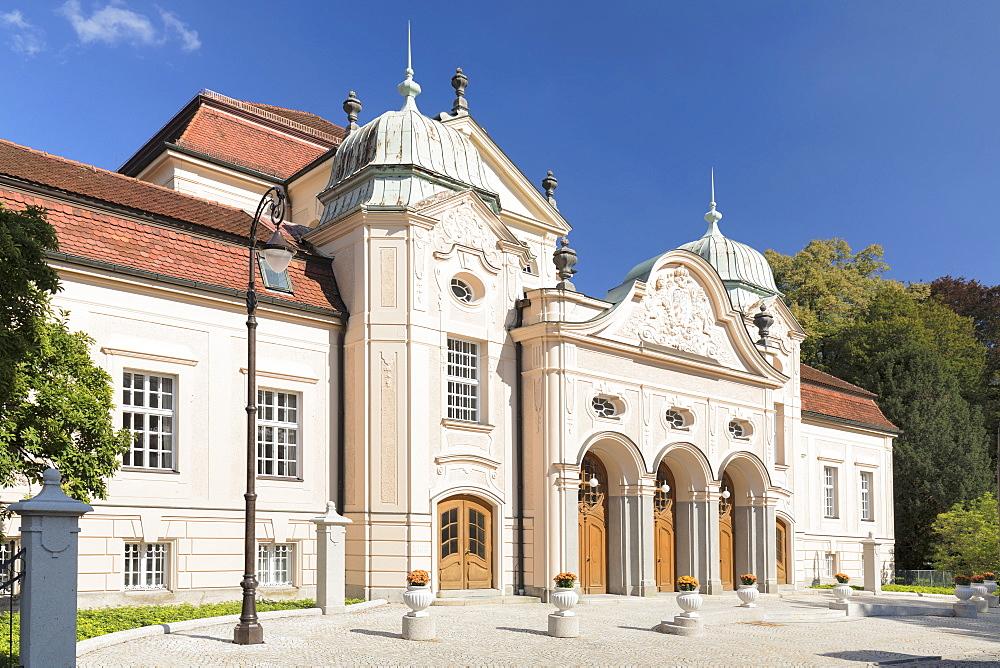 Konigliches Kurhaus (Royal Spa House), Bad Reichenhall, Bayern, Oberbayern, Germany, Europe