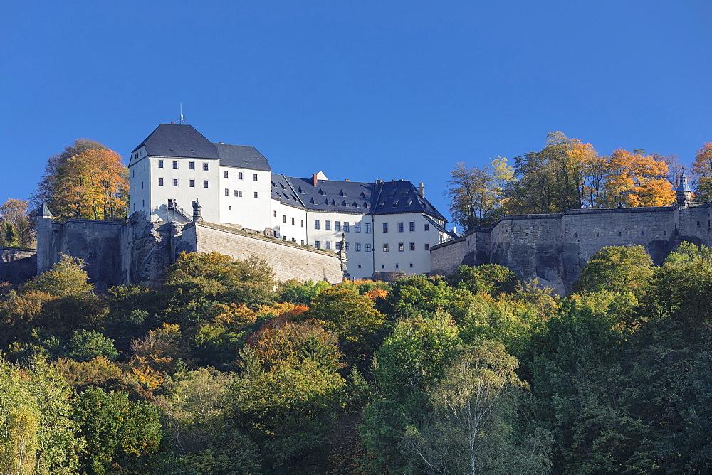 Koenigstein Fortress, Saxony Switzerland National Park, Saxony, Germany - 1160-4018
