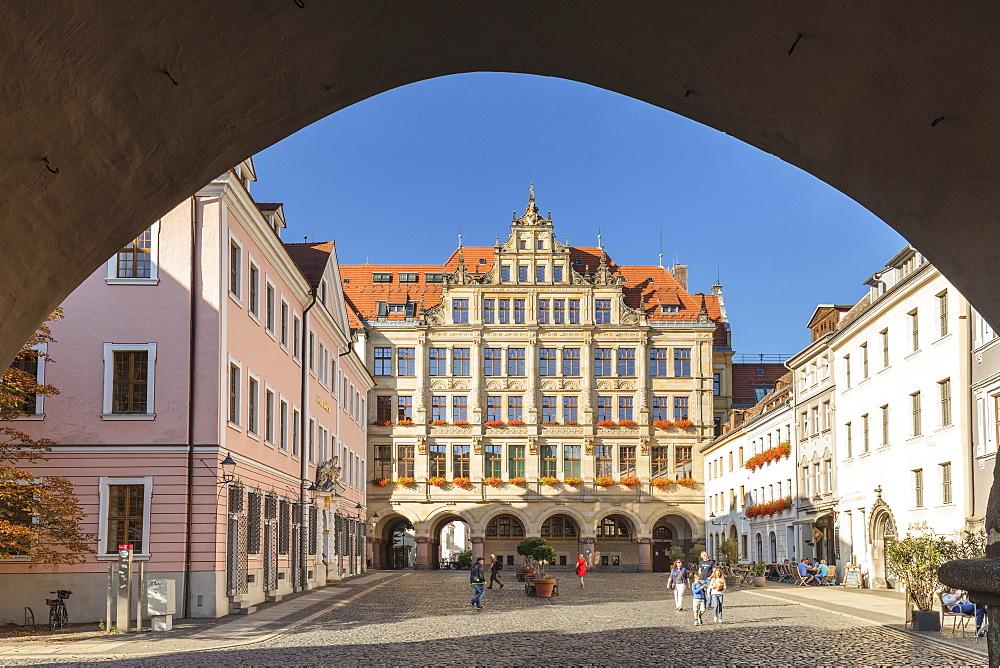 New townhall at Untermarkt Square, Goerlitz, Saxony, Germany - 1160-4053