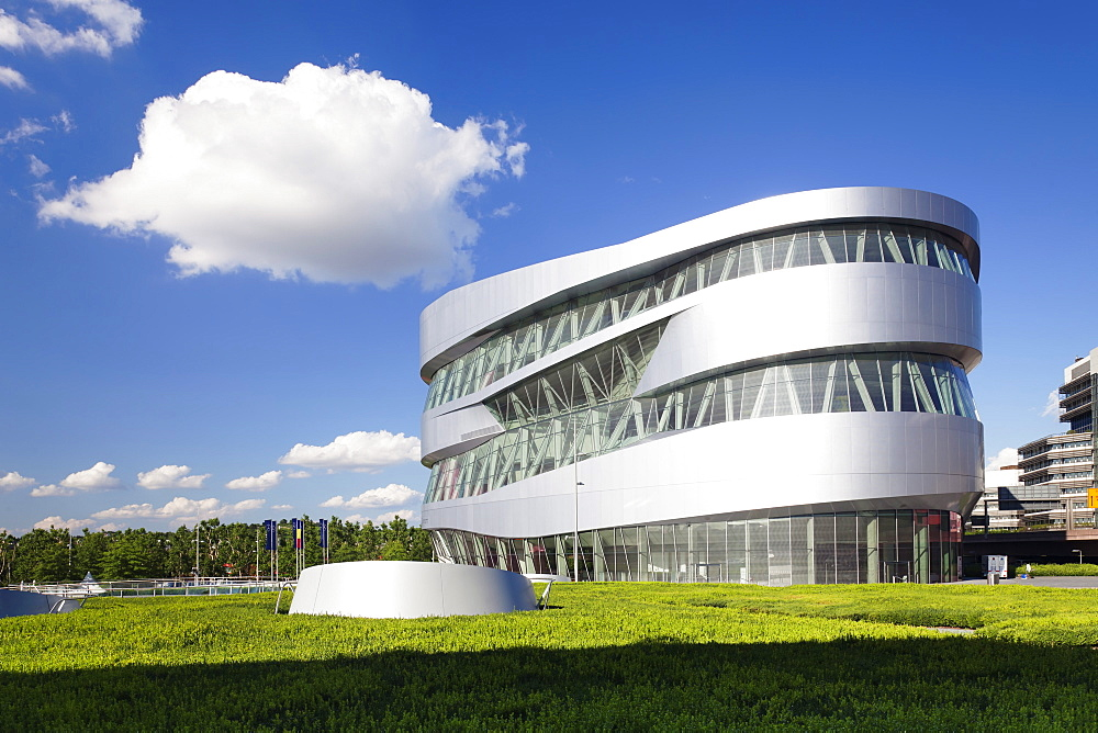 Mercedes Benz Museum, Stuttgart, Baden Wurttemberg, Germany, Europe