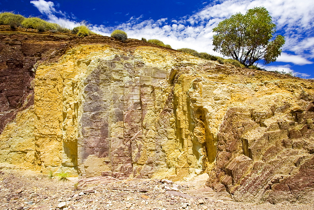 Ocre pits, West Macdonnell Mountain Range, Northern Territory, Australia