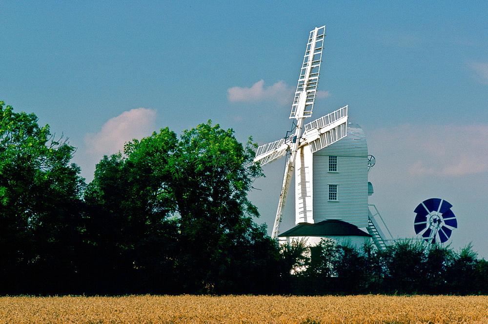 Saxtead Green Windmill, Suffolk