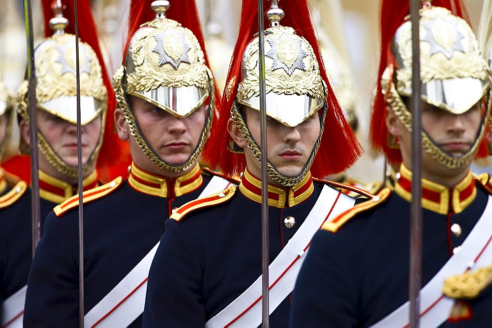 Blues and Royals Regiment of the Household Cavalry, England, UK