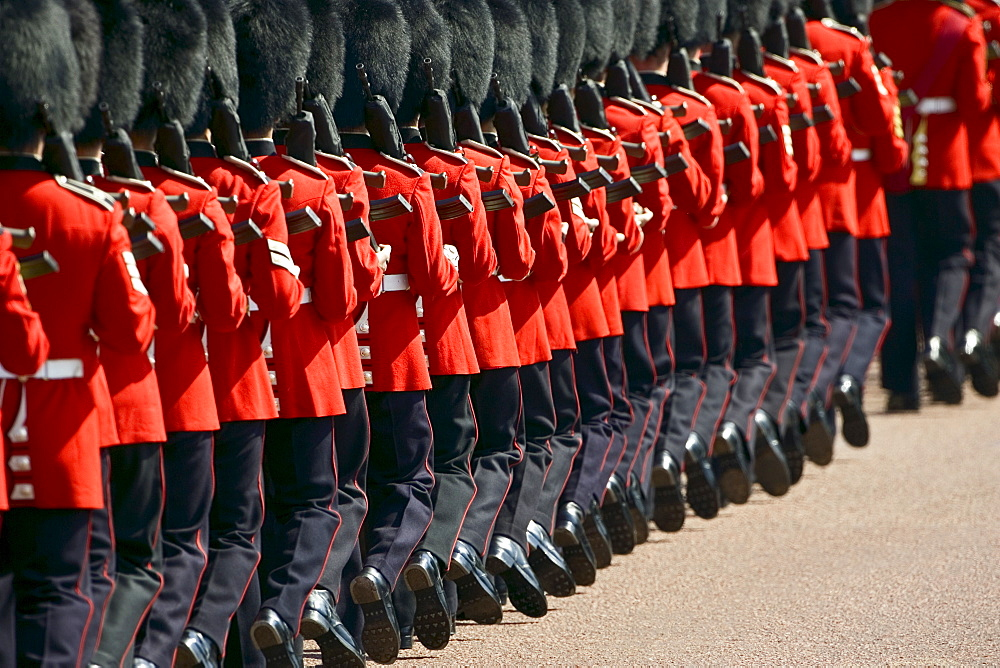 Foot Guards of the Household Division at Military Parade parade, London, UK