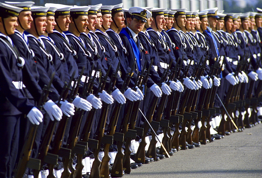Naval parade, Italy