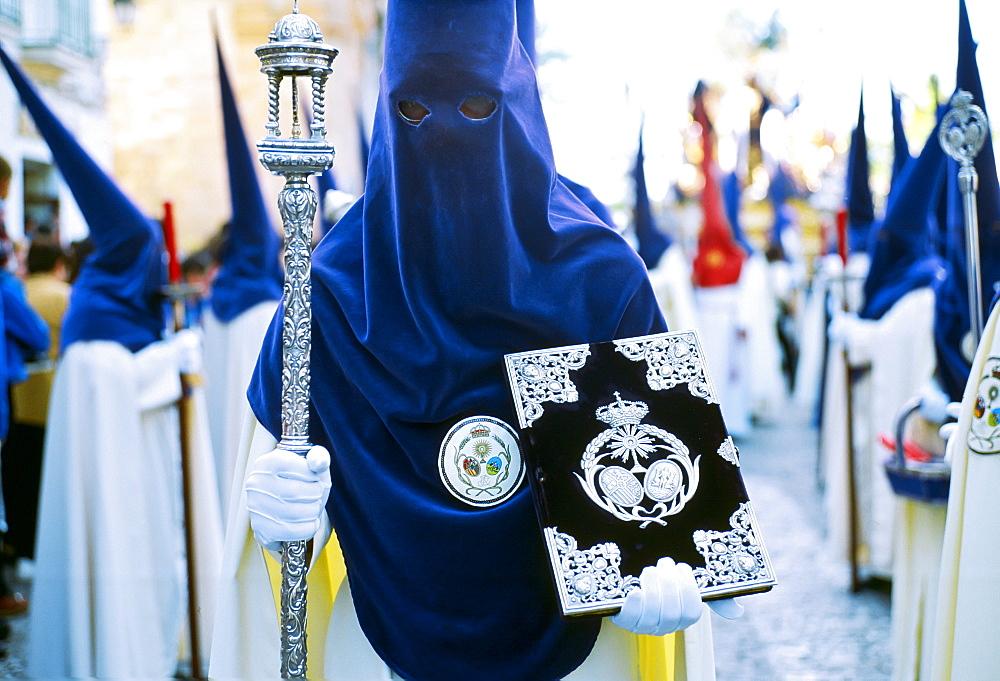 Semana Santa Holy Week in Cadiz, Spain