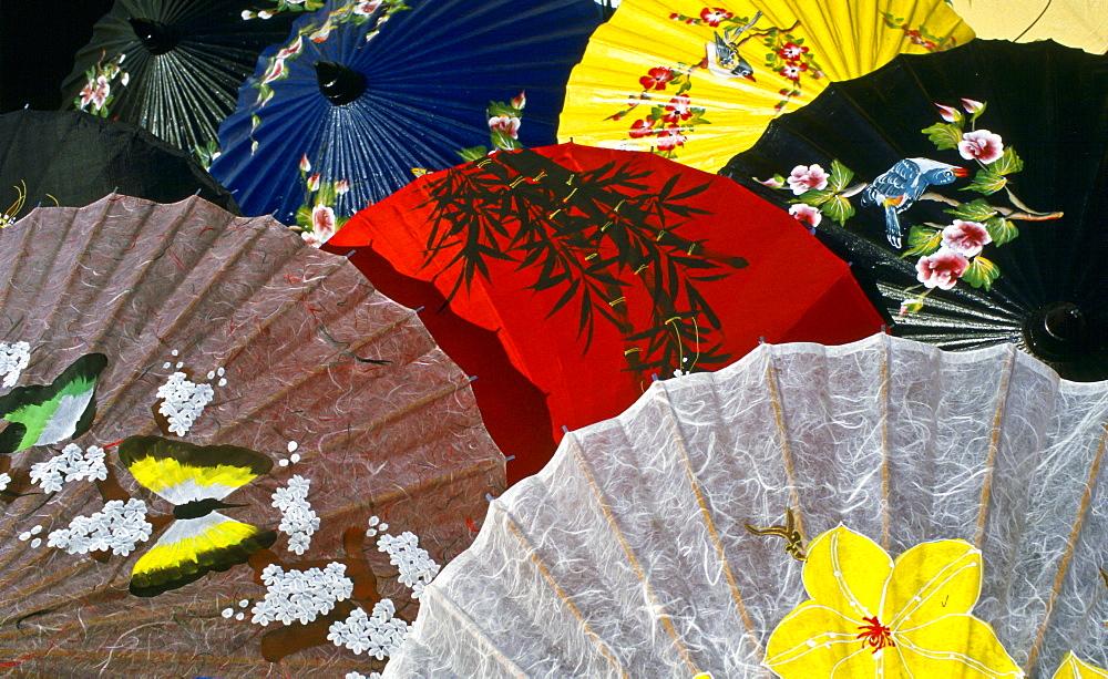 Painted umbrellas, Chiang Mai, Thailand. - 1161-2770