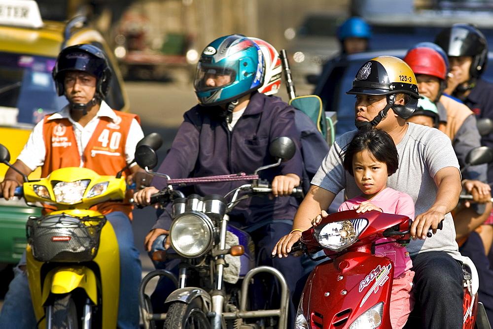Commuters, Bangkok, Thailand - 1161-2834
